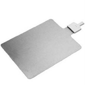 Conmed Pediatric Patient Plate Stainless Steel Without Cable 35 Square Each By
