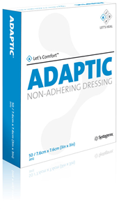 Adaptic Non Adherent Dressing (Acetate With Petrolatum Emulsion) 3 X3 B50 By M