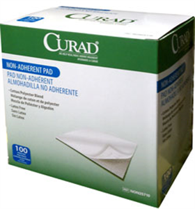 Curad Pads - Non-Adherent Dressing - Sterile 3 X4 B100 By Medline Industries