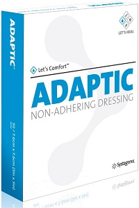 Dressing Adaptic 5X9 Non-Adhesive B12 By Medline Industries