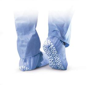 Shoe Covers Spunbond Blue XLarge B100 By Medline Industries