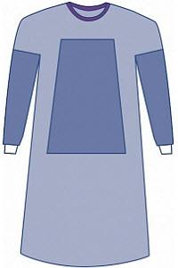 Surgical Gown Eclipse Reinforced XLarge 47 Each By Medline Industries Item No.:Vet-OTC-MW 022124<Br><Br>Mfr: Medline Industries<Br>SKU: 022124<Br>Unit: Each<Br>Mfr Code: Dynjp2102<Br>Case Lot: 0<Br>Si