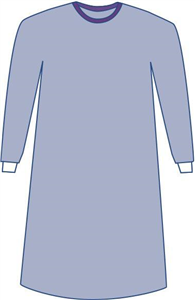 Surgical Gown Sirus Sterile Non-Reinforced W/Set In Sleeves (43 109Cm) Large C20 By Medline Industries Item No.:Vet-OTC-MW 047974<Br><Br>Mfr: Medline Industries<Br>SKU: 047974<Br>Unit: C20<Br>Mfr Code