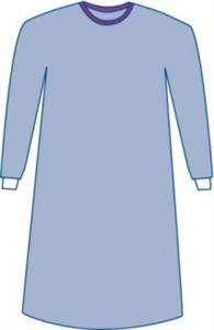 Surgical Gown Sirus Sterile Non-Reinforced W/Set In Sleeves (47 119Cm) XLarge Each By Medline Industries Item No.:Vet-OTC-MW 049838<Br><Br>Mfr: Medline Industries<Br>SKU: 049838<Br>Unit: Each<Br>Mfr C