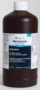 Neomycin Sulfate Oral Liquid 200Mg/ml 16 oz By Med-Pharmex .