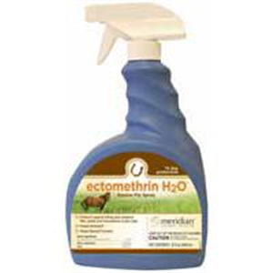 Ectomethrin H2O (Fly And Mosquito Spray For Horses) 32 oz By Meridian Animal Hea