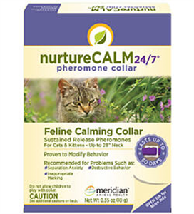 Nurture Calm Phero Collar (Feline) 15 Each By Meridian Animal Health