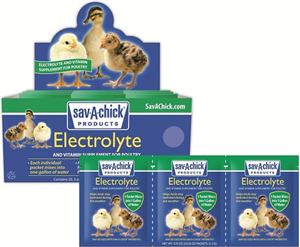 Sav A Chick Electrolyte 20 Count Displ By Milk Products