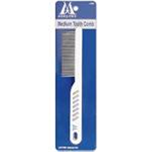 Comb Medium Tooth Deluxe (Plastic Handle) Each By Millers Forge