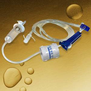 IV Set Aniset 70 Pediatric/Microbore Dial-A-Flow 60 Drops/ml Each By Millpledge