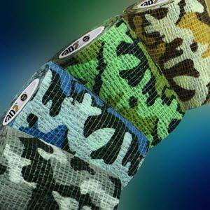 Rapz Easy Tear Camo Variety Pack 2 X5.5Yd B12 By Millpledge