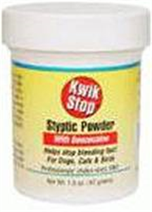 Kwik Stop Styptic Powder With Benzocaine 42gm By Miracle Corp
