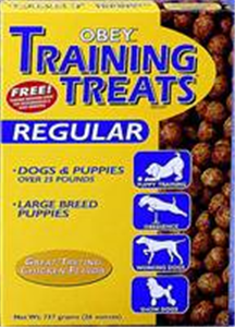 Obey Training Treats (Regular) 11 X26 oz Bx11 By Miracle Corp