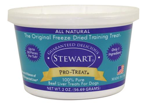 Pro-Treat Freeze Dried Beef Liver Treats 2 oz By Miracle Corp