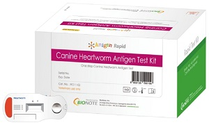 Antigen Canine Heartworm Test B100 By Modern Vet Therapeutics