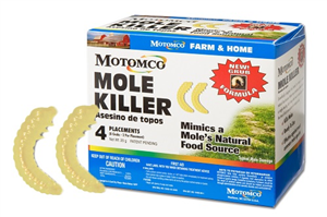 Mole Killer Grub 8 Count Each By Motomco