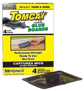 Tomcat Glue Board P4 By Motomco