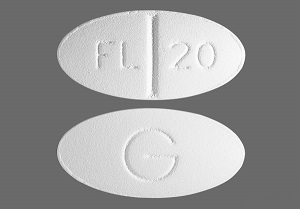 Fluoxetine Tabs 20mg B30 By Mylan Pharmaceuticals
