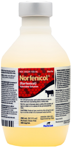 Norfenicol Inj 250ml 250cc By Norbrook