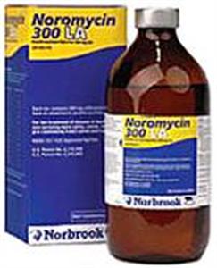Noromycin 300 La (Oxytetracycline) 500cc By Norbrook