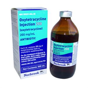 Oxytetracycline 200 250cc 250cc By Norbrook