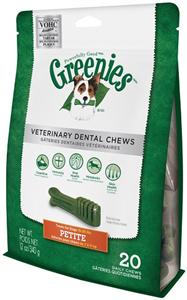 Greenies Dental Chews Canine Vet Formula - New Formula 12 oz (20 Treats Per Bag)