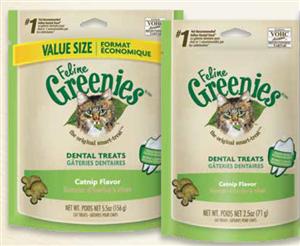 Greenies Feline 10 X 2.5 oz - Catnip Cs10 By Nutro Company