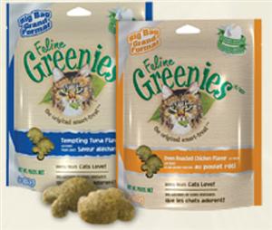 Greenies Feline 10 X 2.5 oz - Savory Salmon Cs10 By Nutro Company