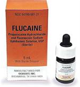 Flucaine Ophthalmic Solution 5cc By Ocusoft