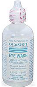 Irrigation Solution Eye Wash - No Boric Acid 4 oz By Ocusoft