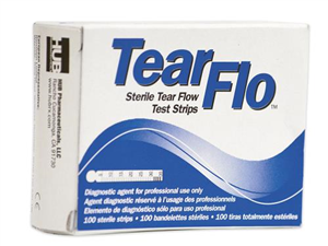 Tear Flow Ophthalmic Test Strips Sterile B100 By Ocusoft