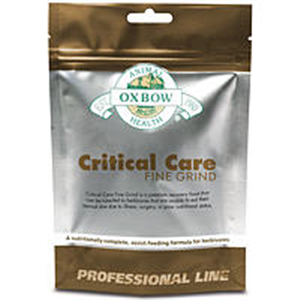 Critical Care Fine Grind For Herbivores (100Gm) 3.5 oz By Oxbow Pet Products