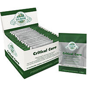 Critical Care For Herbivores Anise Flavor 14 X36gm B14 By Oxbow Pet Products