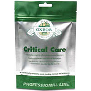 Critical Care For Herbivores Apple / Banana Flavor (141Gm) 5 oz By Oxbow Pet Pro