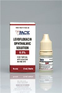 Levofloxacin Ophthalmic Solution 0.5% 5ml By Pack Pharmaceuticals