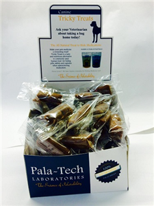 Canine Tricky Treats Display - Grilled Duck Flavor B400 By Pala-Tech Laboratorie
