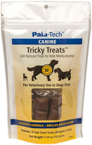 Tricky Treats Canine - Grilled Duck Flavor B30 By Pala-Tech Laboratories