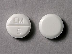 Methimazole Tabs 5mg B500 By Par Pharm