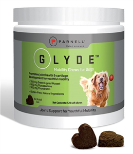 Glyde Mobility Chews For Dogs B120 By Parnell Us 1