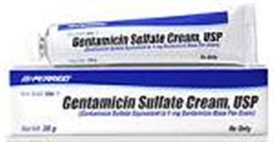 Gentamicin Sulfate Topical Cream 0.1% 15gm By Perrigo Pharmaceuticals