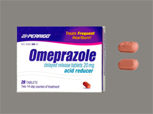 Omeprazole Dr (Delayed Release) Tab 20mg Non-Returnable B28 By Perrigo Pharmac
