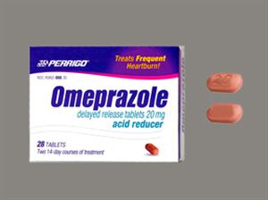 Omeprazole Dr (Delayed Release) Tab 20mg Non-Returnable B28 By Perrigo Pharmac