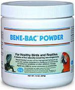 Bene-Bac Powder Plus - Bird & Reptile 10 oz By Pet Ag