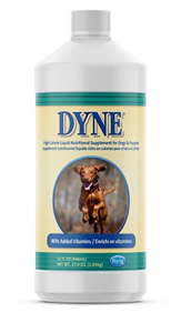 Dyne High Calorie Liquid K9 32 oz By Pet Ag