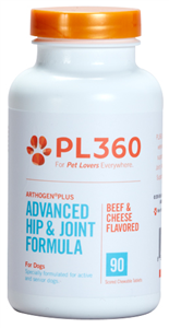 Arthogen Plus For Dogs (Beef & Cheese Flavored Chew Tabs) B90 By Pl360