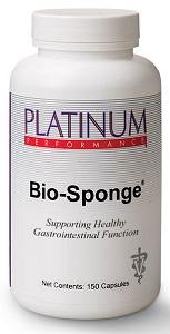 Bio-Sponge Capsules [Canine Intestinal Absorbent] B300 By Platinum Performance V