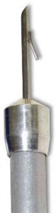 Pneu-Dart 2cc X1 Type C Tri-Port Discharge W/ Wire Barb Transmitter P5 By Pneu-D