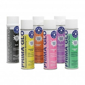 Paint Prima Glo Sprayon Animal Marker (Florescent Green) 500ml Each By Prima Tec