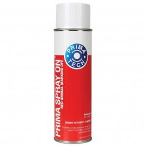 Paint Prima Sprayon Animal Marker (Red) 500ml - Now Sold By The Can - 12 Cans =