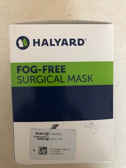 '.Surgical Masks Fog Free Foam B.'